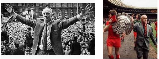 Bill Shankly Pelatih Tersukses di Liga Inggris