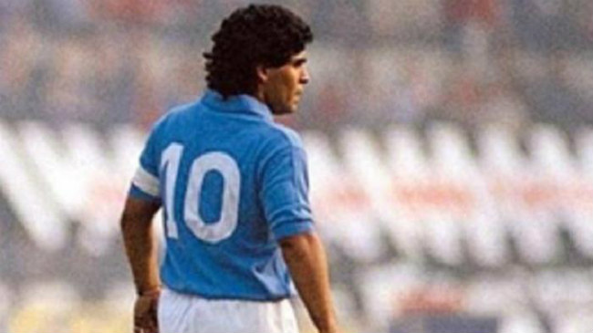 Diego Maradona Pemain Legend Liga Italia