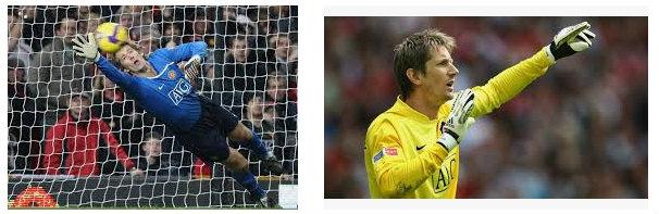 Edwin Van Der Sar Kiper Terbaik Manchester United