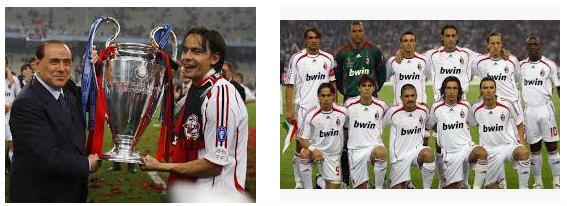 Final Liga Champions AC Milan