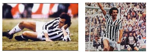 Michel Platini Pemain Legend Serie A Italia