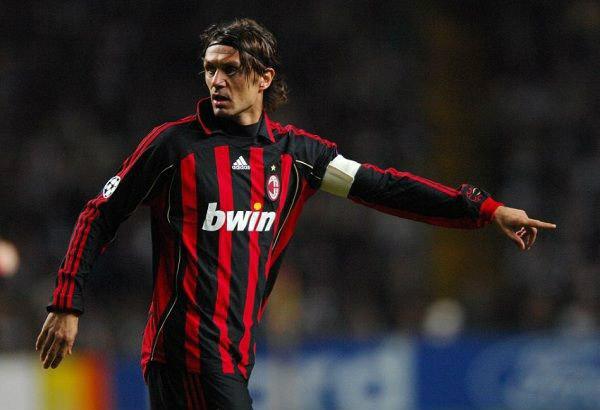 Paolo Maldini Bek Terbaik Liga Italia