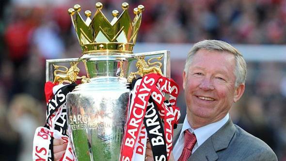 Pelatih Liga Inggris Sir Alex Ferguson