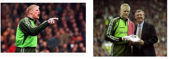 Peter Schmeichel Kiper Terbaik Manchester United