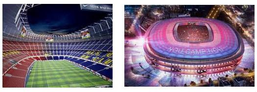 Stadion bola termegah di Final Liga Champions