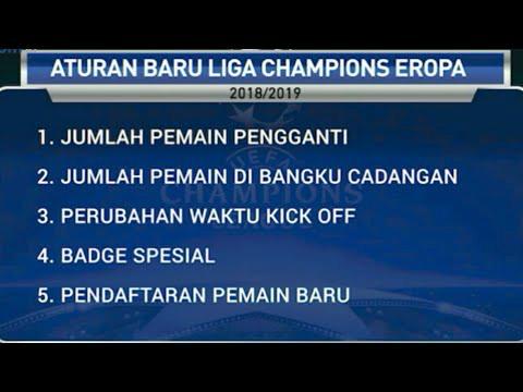 aturan dan format baru Liga Champions