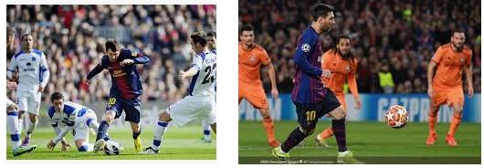 bakat alami Lionel Messi