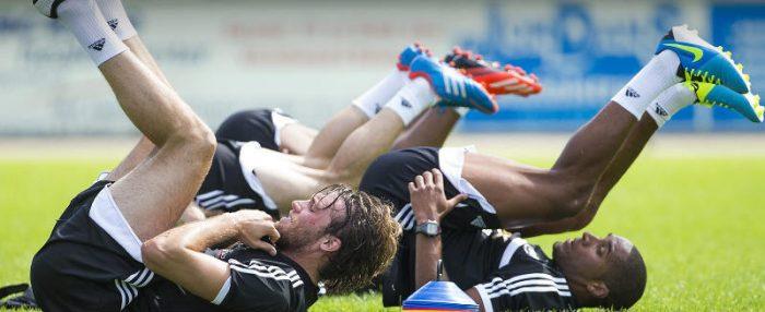 cara latihan fisik pemain sepakbola profesional