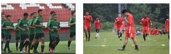 cara latihan pemain sepakbola