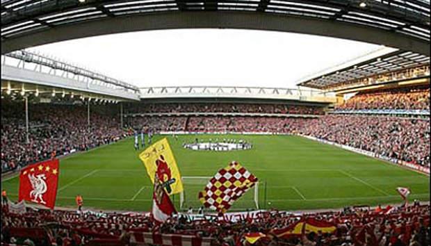 fakta stadion Anfield