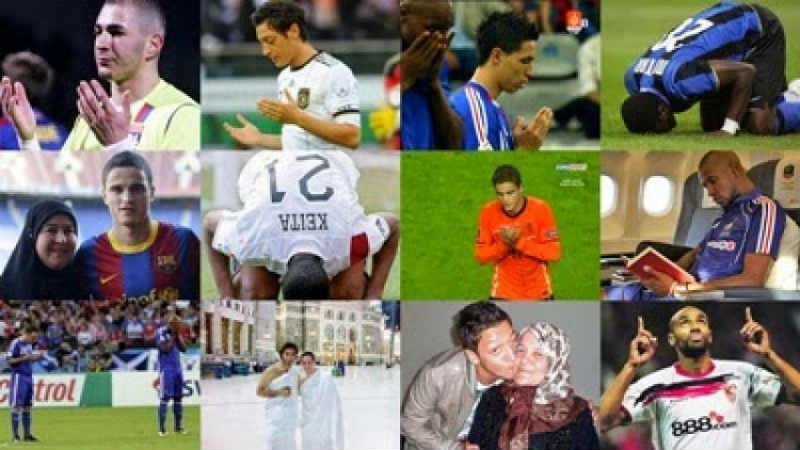 pemain bola beragama islam