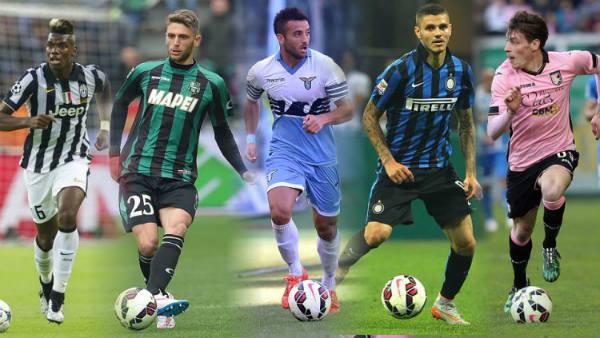 pemain muda berbakat di Liga Italia