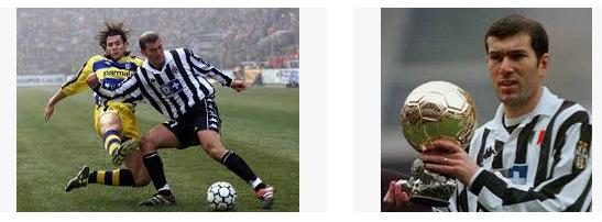 prestasi Zidane di Juventus