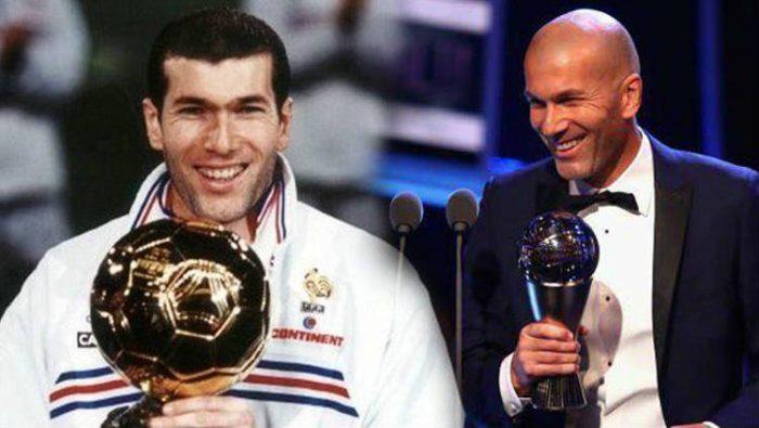 prestasi individu Zidane