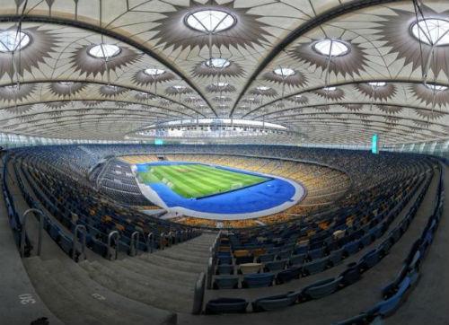 stadion paling megah pada final Liga Champions