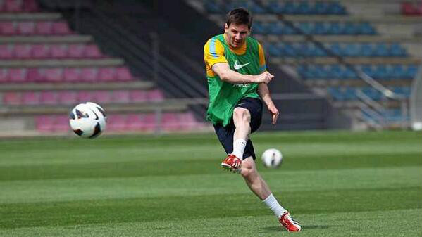 tips latihan rutin seperti lionel messi